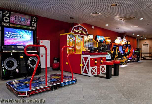 игровой центр московского аквапарка «Карибия»