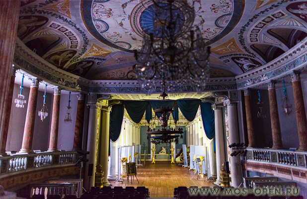 помещения театра двореца Шереметьевых в Останкино