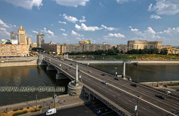 бородинский мост в москве фото