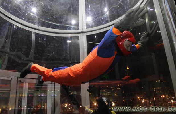 Аэротруба «I can fly» в ТЦ Авиапарк