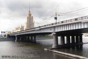 Новоарбатский или Калининский мост в Москве