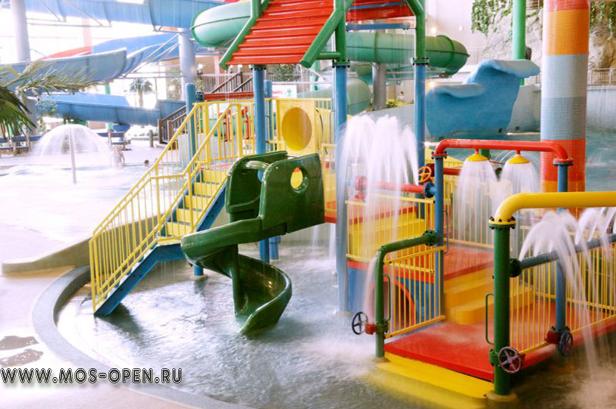 Аквапарк «Ква-ква парк» в Москве