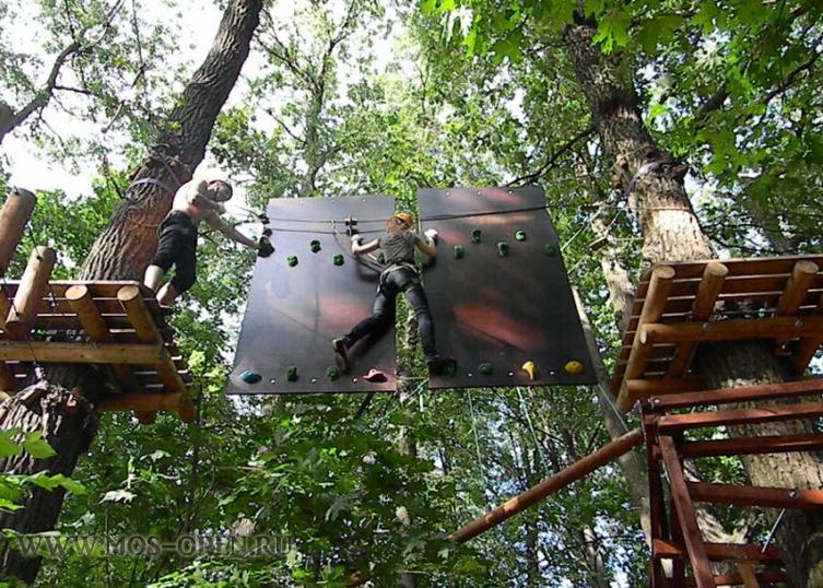 Веревочный «Панда Парк» в Филях