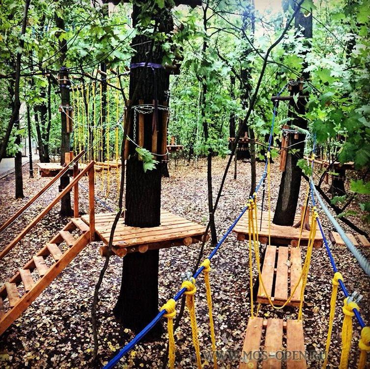 Веревочный «Панда Парк» в Филях для детей