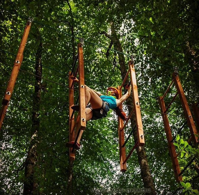 «Панда Парк» в Мещерском лесу маршрут «Быстрый мустанг»