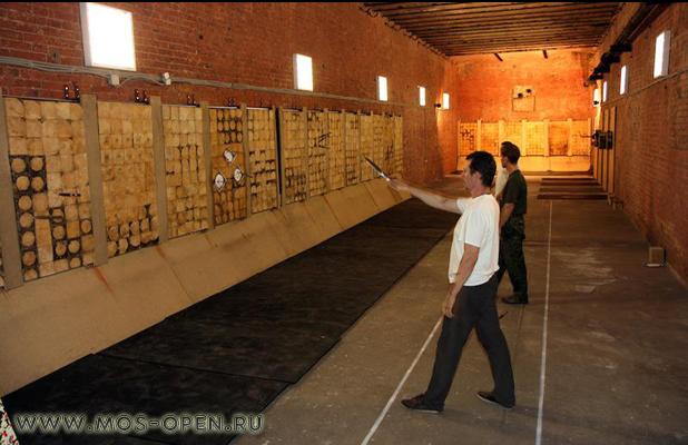 Подземный стрелковый клуб «Лабиринт»